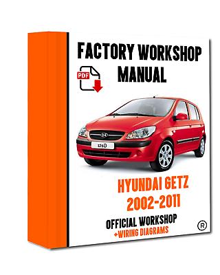 HYUNDAI Getz 2002-2009 servizio di Officina Riparazione Manuale