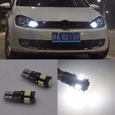 2X T10 Plasma LED Side Parking Light VW Golf 5 6 Polo Jetta Bora Passat 3C CC B7