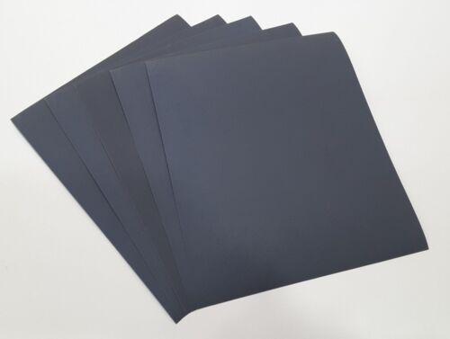 5 Sheet Starcke 290529 Wet and Dry Sandpaper 600 Grit 23 x 28cm
