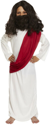 Kids Boys Shepherd Joseph Innkeeper Nativity Jesus Costume Christmas Fancy Dress