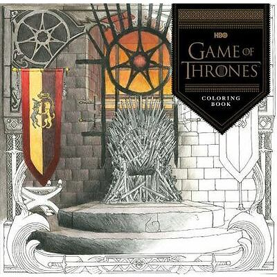 Game of Thrones Coloring Book For Adults GoT by HBO (2016, Paperback) NEW