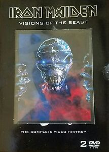 IRON-MAIDEIN-THE-COMPLETE-VIDEO-HISTORY-2-DVD-SET-c2003-NEAR-MINT-SANCTUARY