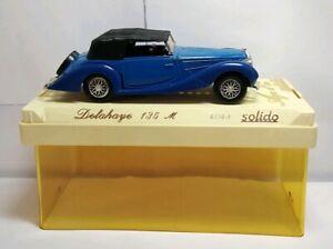 Solido-Age-D-039-or-Diecast-1-43-escala-Delahaye-135-M-Azul-Negro-4048