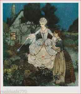 Perraults Fairy Tales Illustrated by Edmund Dulac   eBay