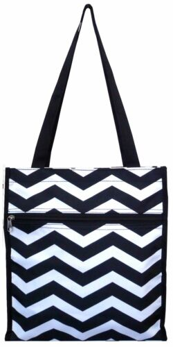 "Tote Bag 13/"" Fashion Chevron Print Shopping Bag Book Bag Shopping Tote"