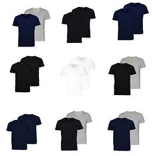 Emporio Armani Basic T-Shirt 2er Pack V & Rundhals vers. Farben