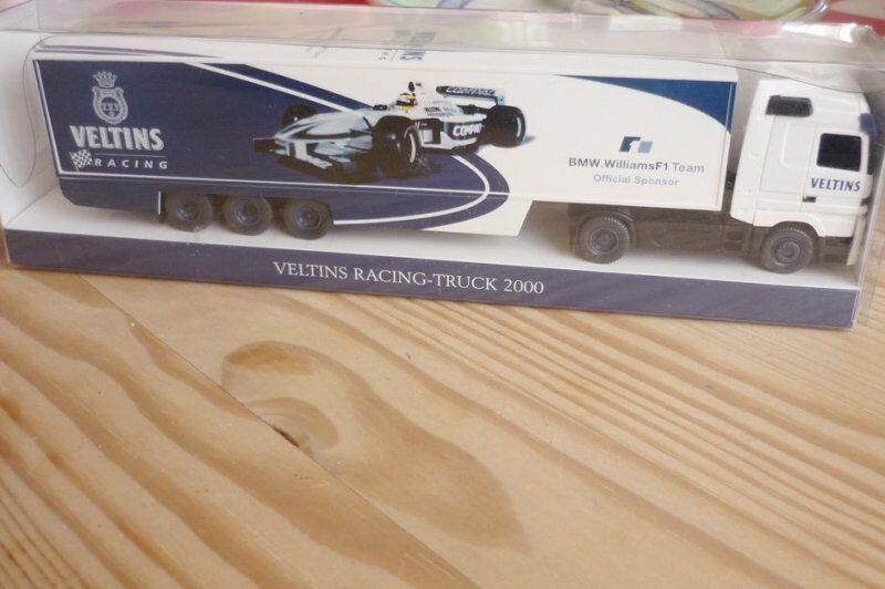 Wiking Vehículo Publicitario a Escala MB Veltins Racing Camión 2000 Rareza