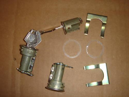 Mopar 66 67 68 Charger Roadrunner Coronet Dart  Ignition Door Lock Set NEW