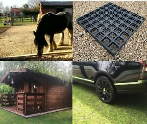 Polytunnel-Greenhouse-Base-Cold-Frame-Shed-Base-Grass-Grids-6x4-039-ALL-SIZES