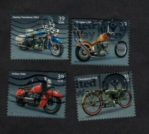 4085 8 American Motorcycles Used Set 39 Cent Off Paper Ebay