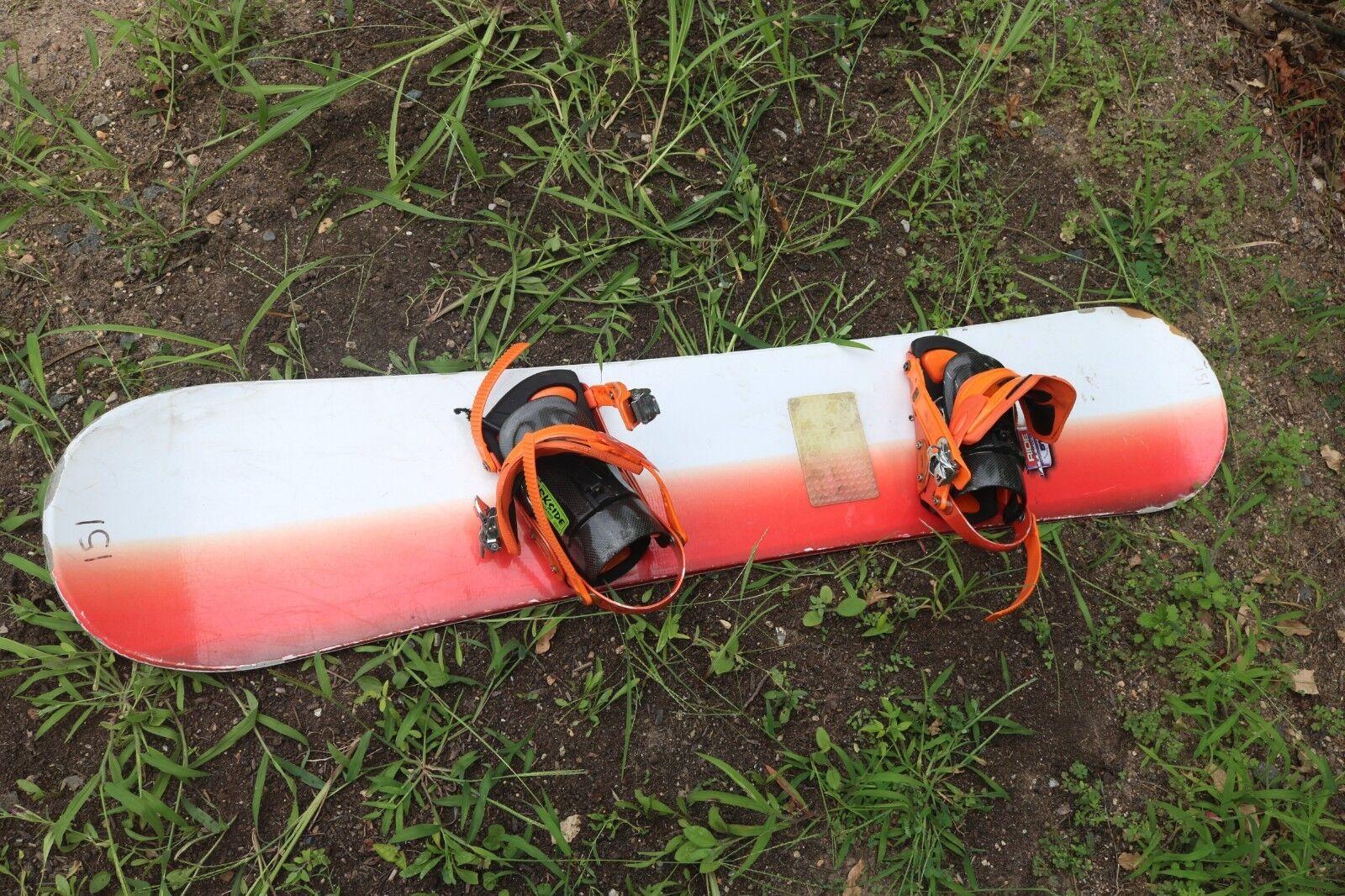 RIDE Snowboard 151cm with Bindings DarkSide