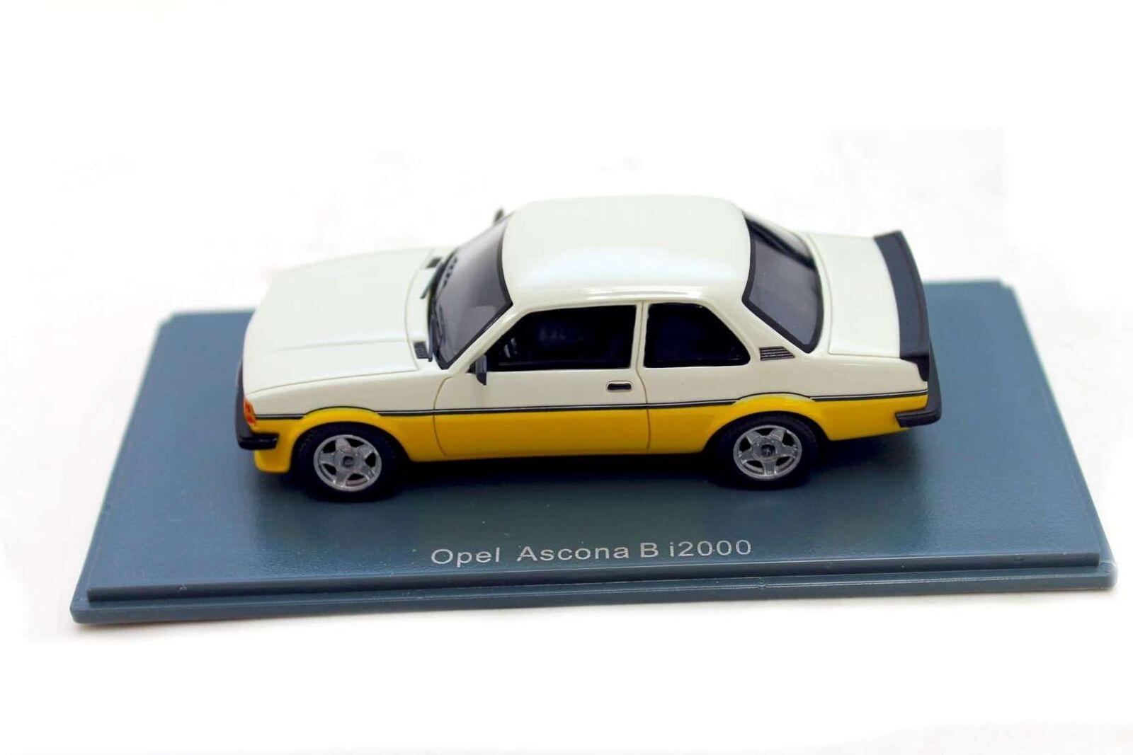 Opel Ascona B i2000 1 43 Modellauto Modellauto Modellauto Sammlermodell OC11157 9f8802