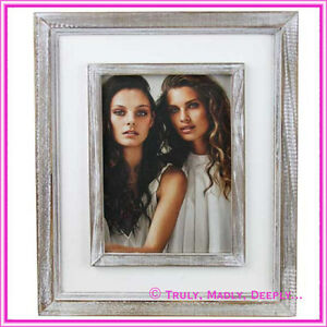 Lavida Photo Double Frame Whitewash 5 X 7 Ebay