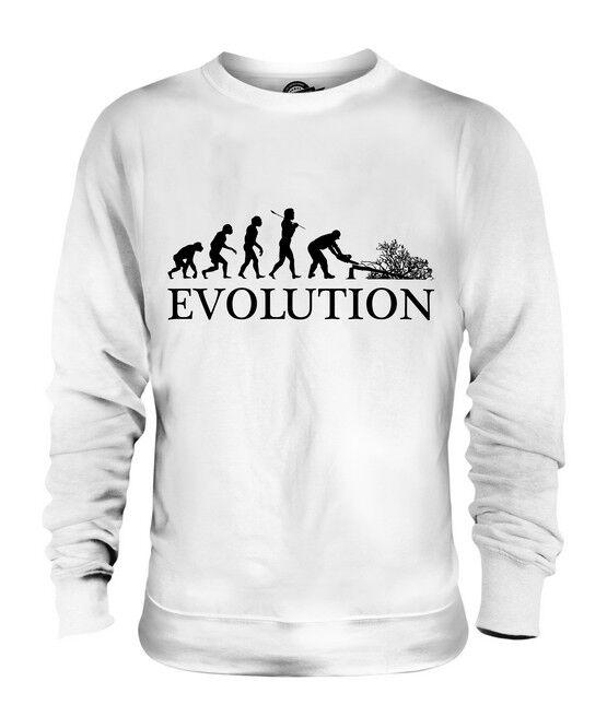 TREE SURGEON EVOLUTION OF MAN UNISEX SWEATER  Herren Damenschuhe LADIES GIFT GIFT S