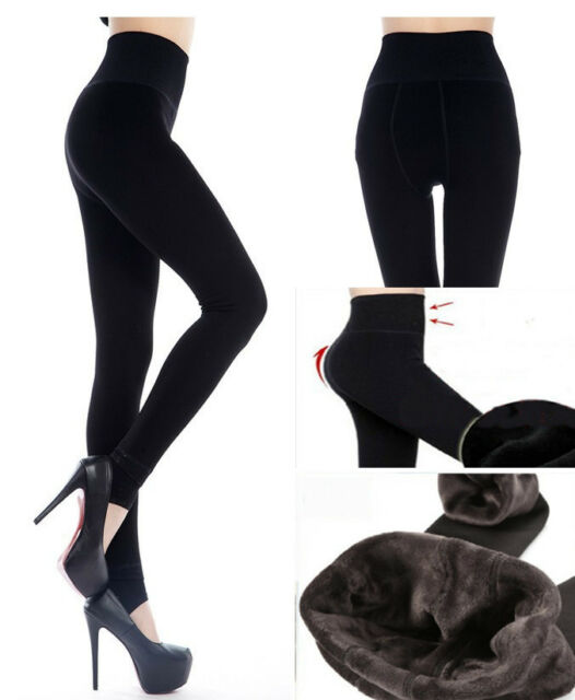 6712206254c22 1pcs Thick Warm Fleece lined Fur Winter Tight Pencil Leggings Sexy Pants  Women's