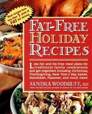 Fat-Free Holiday Recipes Woodruff, Sandra Paperback