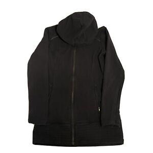 Athleta Women's Athletic Hooded Jacket Full Zip Black Size XS