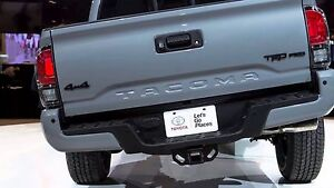 Image Is Loading Toyota Tacoma 2016 2017 Trd Pro Rear Tail