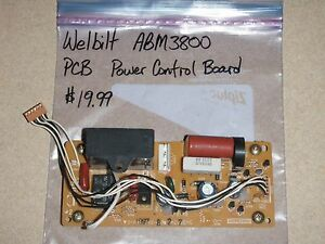 welbilt bread machine power control board (pcb) abm3800 parts ebayimage is loading welbilt bread machine power control board pcb abm3800