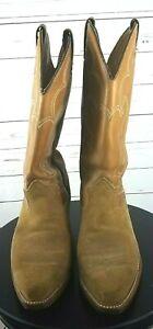 Vintage RARE ACME Cowboy Boots Women's Size 9 EW English