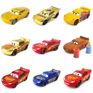 Disney Pixar Cars 3 Lightning Mcqueen Dinoco Cruz Ramirez Metal