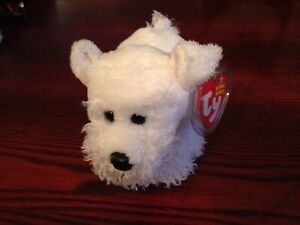 Ty Beanie Baby FARLEY - the Dog w/ Tag protecto