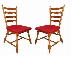 2 tolle 50er jahre holzst hle st hle gedrechselt ebay. Black Bedroom Furniture Sets. Home Design Ideas