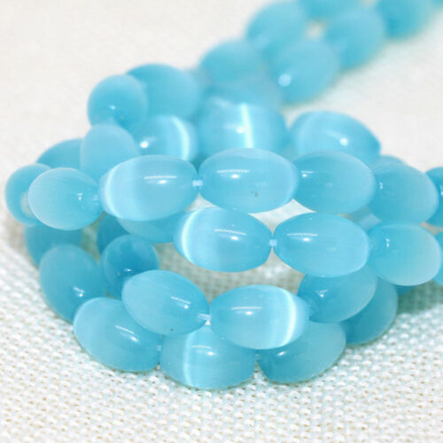 """New 5 Color 8x12mm MEXICAN Opal Gemstone Rice Loose Beads 13/"""""""