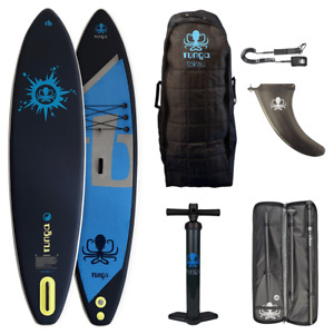 RUNGA TOKAU AIR INFLATABLE STAND-UP PADDLE BOARD SUP iSUP 11.6 FUß SURFBOARD #3A