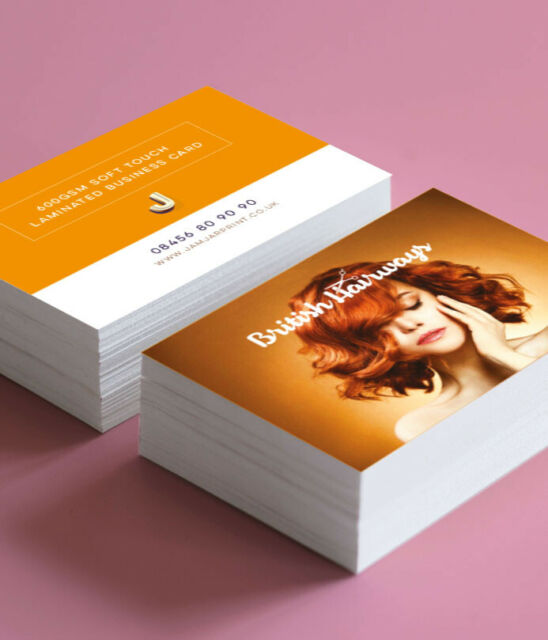 Full Colour Printed Business Cards Double Sided, or  Single Sided 85mm x 55mm
