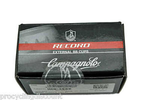 NEW-Campagnolo-ULTRA-Torque-Bottom-Bracket-Cups-Fit-Record-Chorus-68mm-ENGLISH
