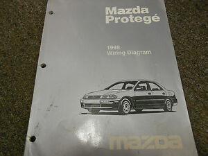 1998 mazda protege electrical wiring diagram service repair shop rh ebay ie 1998 mazda protege lx manual mazda 323 protege 1998 manual