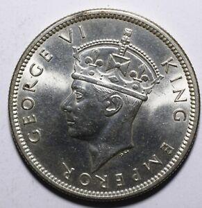 1942-Fiji-One-1-Shilling-George-VI-Lot-858