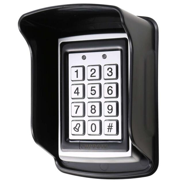 Access Control Keypad 125khz RFID Door Entry Controller with Waterproof Cover.