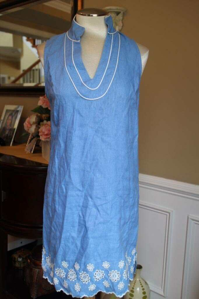 SALE TO SABLE LININE EMBROIDER DRESS SIZE SMALL (DR200