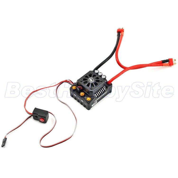 Hobbywing Ezrun MAX8-V3-T Enchufe 150 A Water-proof Brushless ESC 1 8 RC coche 1 8