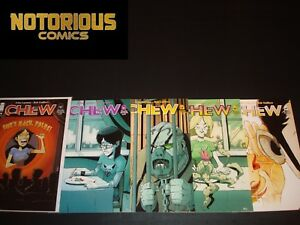 Chew 36 37 38 39 40 Complete Comic Lot Run Set Image Layman Guillory Collection