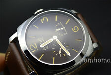 Parnis 50mm Power Reserve automatic mechanical movement men's Wrist Watch