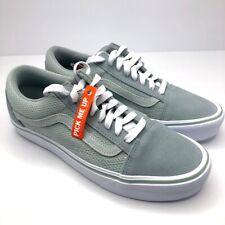 Vans Old Skool Lite (SuedeCanvas) Pewter Men's Size 7.5 New in Box VN0A2Z5WOT4