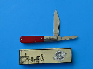 RUSSELL-Smooth-Red-Bone-Barlow-Knife-RU02-NEW-Green-River-Works-Germany-Clip-Pt