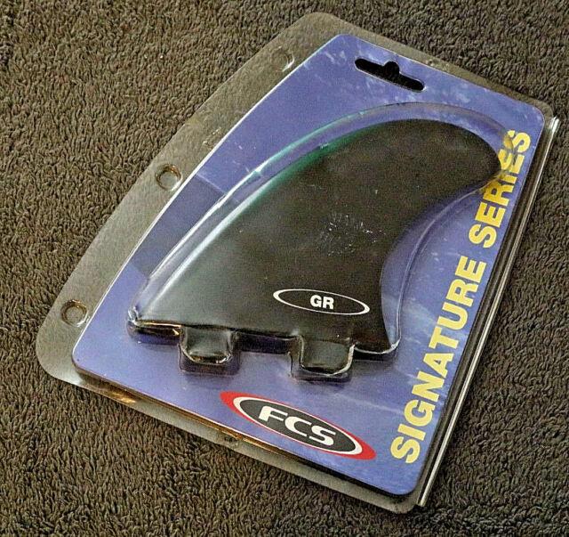FCS Tri Fin Rear Surfboard Fins Set Of 3 Fins GR Type W