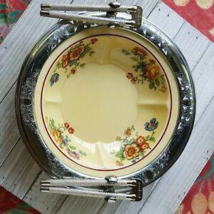 Vintage-Golden-Maize-Farberware-Pottery-034-Nut-Dish-034