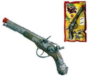 DIECAST-PIRATE-CAP-GUN-PISTOL-play-costume-pirates-item-die-cast-metal-prop-toy