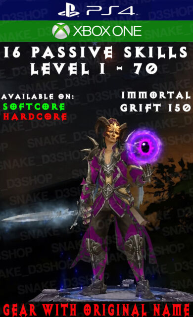 Diablo 3 - PS4 - Xbox One - Fully Modded PRIMAL Set - Tal Rasha's - Wizard  - V2