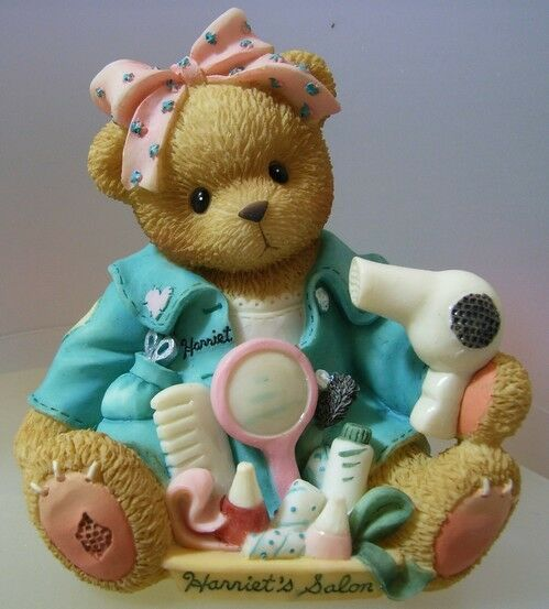 "CHERISHED TEDDIE ""HARRIET"" 476587 MIB      ""YOU MAKE ME FEEL BEAUTIFUL INSIDE"""