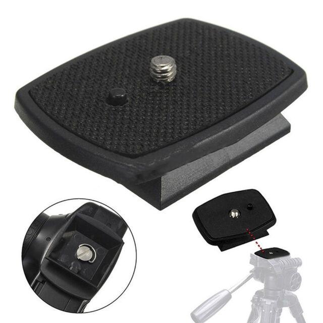 Tripod Quick Release Plate Screw Adapter Mount Head F Digital Camera DSLR SLR