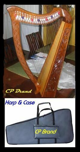 Stoney End Eve 22 String Harp 6 Lever Inc Padded Bag Made in