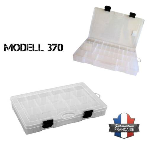 4 Piece SF370 boxes from France Waterproof Boot Bag Bait Bag L