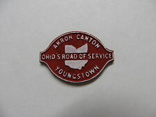 O / HO Scale Akron Canton & Youngstown Sign for building station AC&Y layout #1