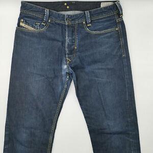 DIESEL-meesal-WASH-0088z-w32-l32-Blu-Blue-Da-Uomo-Denim-Jeans-Designer-Pantaloni